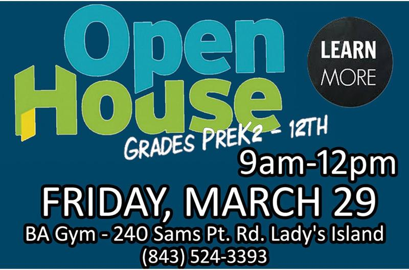Beaufort Academy Open House, 3/29 @9am-12pm Featured Photo