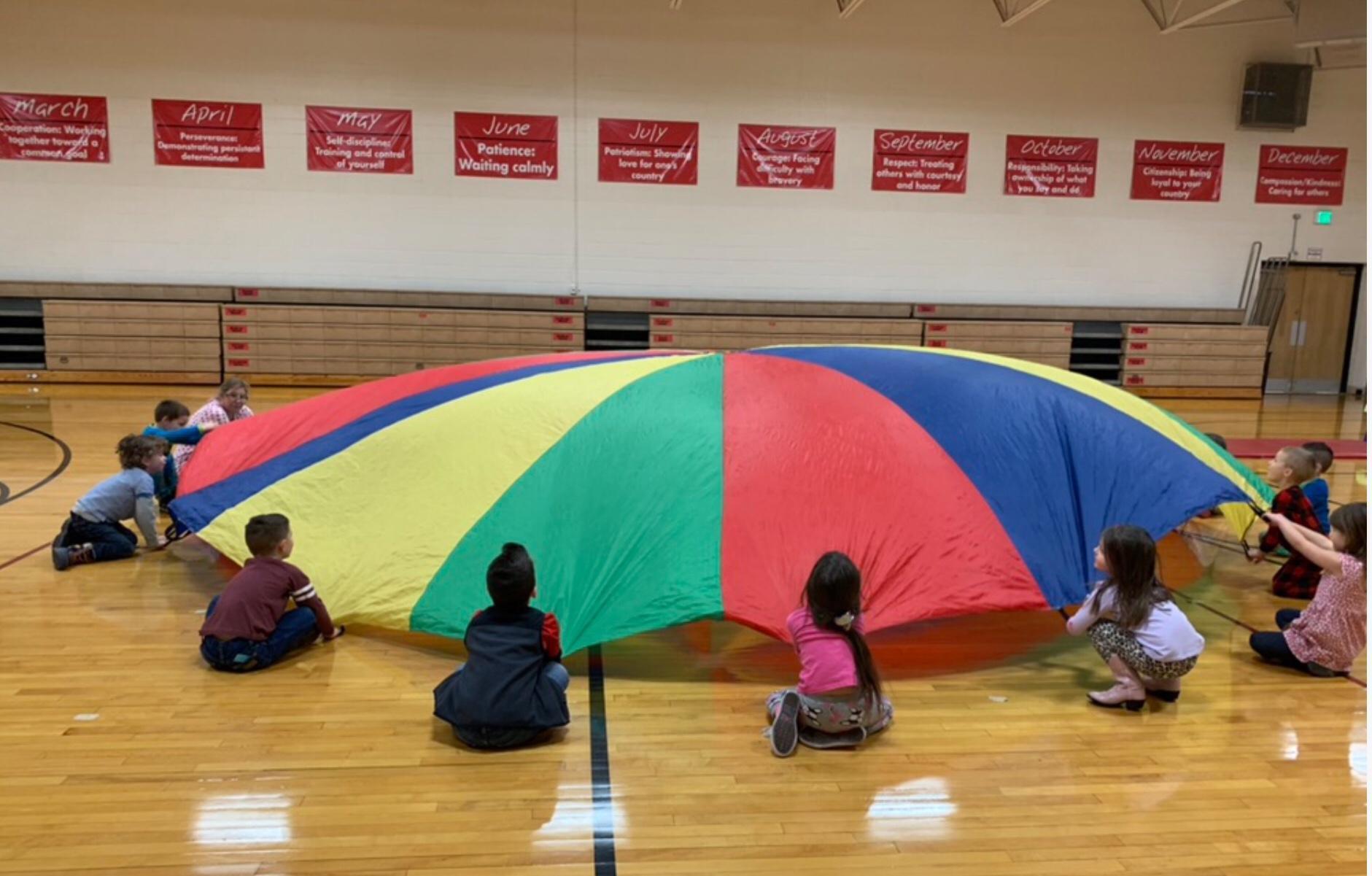 parachute time
