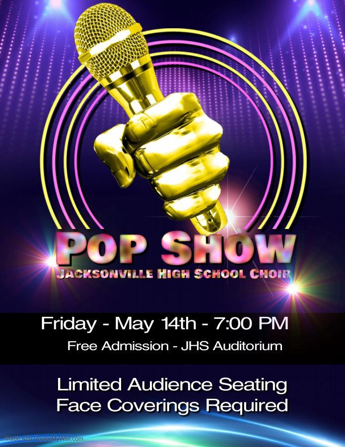 Pop Show Poster