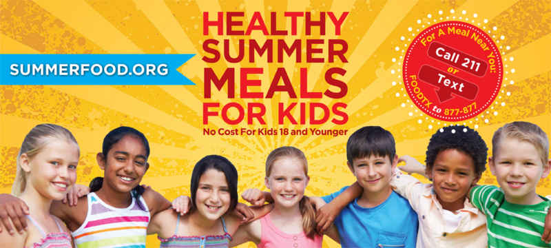 Summer Food Service Program Provided During Summer School Thumbnail Image
