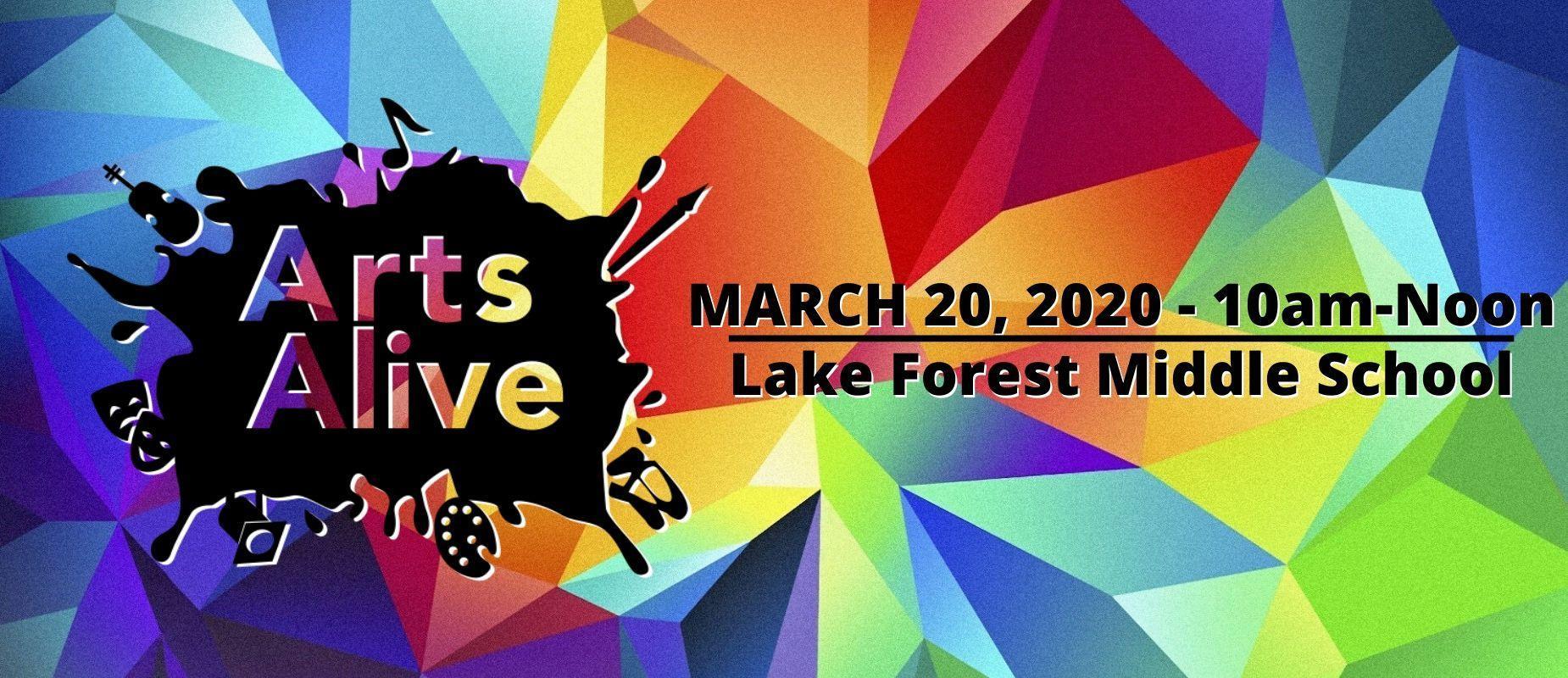 Arts Alive - March 20, 2020 - LFMS