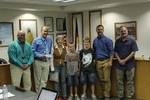 Cañon City Middle School receives donation for vocational department