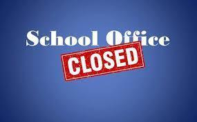 School Office is CLOSED Thumbnail Image