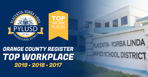 OC Register Top Workplace = PYLUSD for 2019.