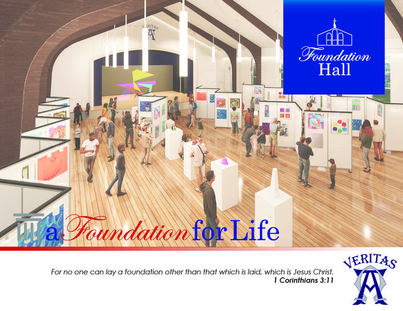 Foundation Hall Brochure cover