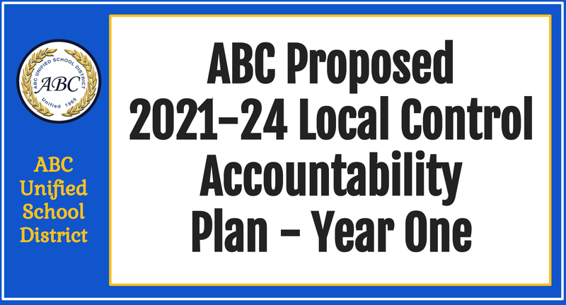 Local Control Accountability Plan banner