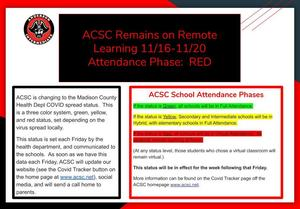 ACSC Remains on Remote Learning