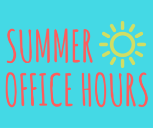 Summer Office Hours at STM Featured Photo