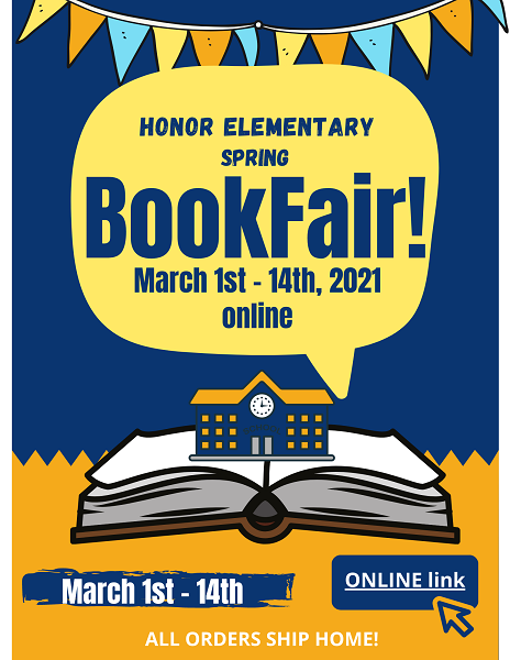 HoNoR Elementary VIRTUAL Book Fair is NOW OPEN! Featured Photo