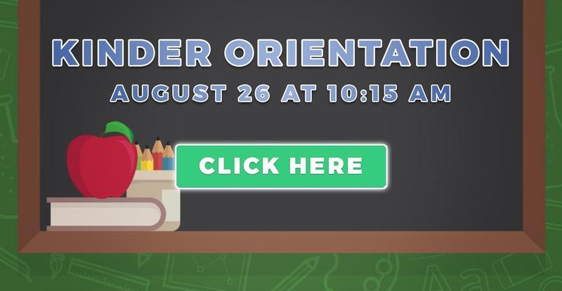 Kindergarten Orientation: August 26 - Zoom Link & Info