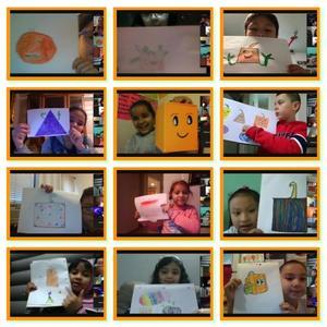 Students show their diverse pumpkins