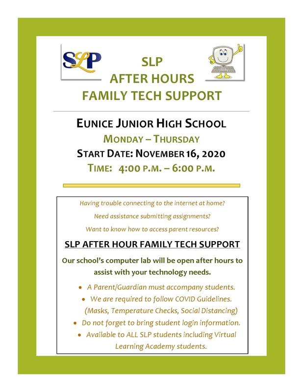 tech support flyer