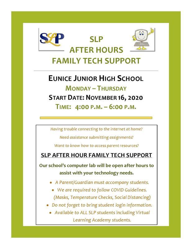 tech support flyer