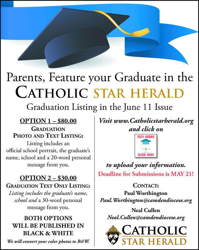 Attention Senior Parents: Celebrate your 2021 Graduate! Featured Photo