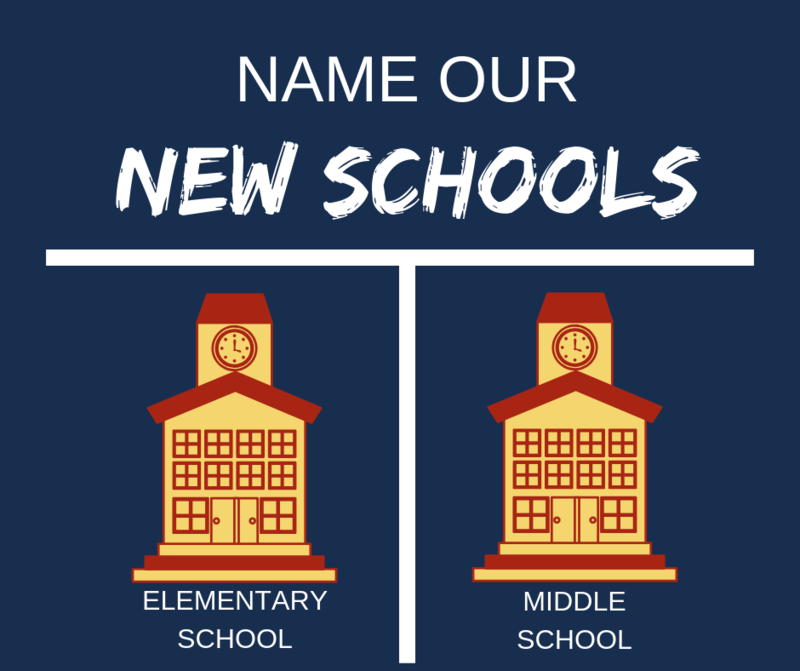 Name Our New Schools Logo