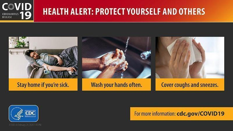 Health alert: Protect yourself and others