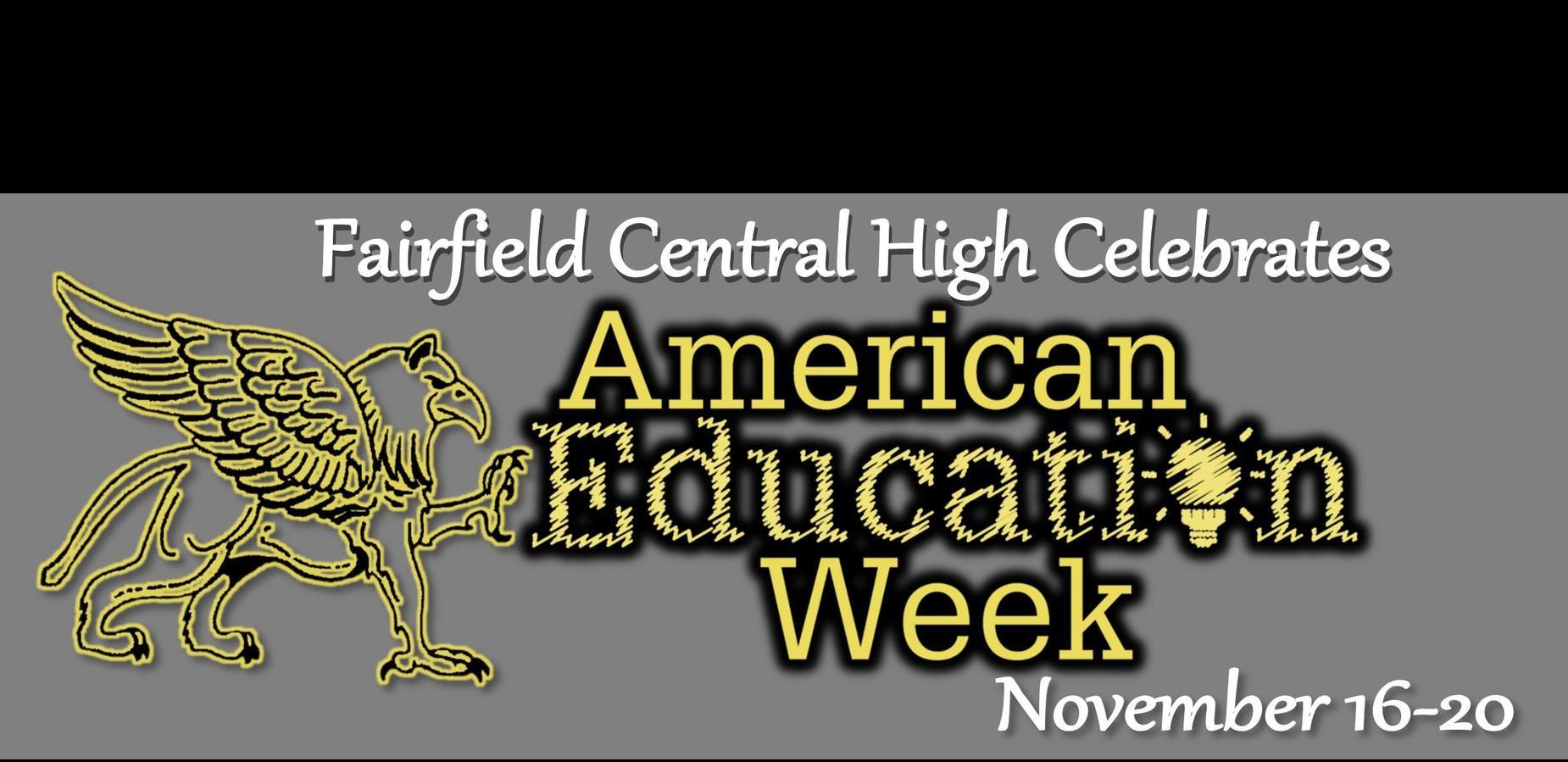 American Education Week Nov 16-20