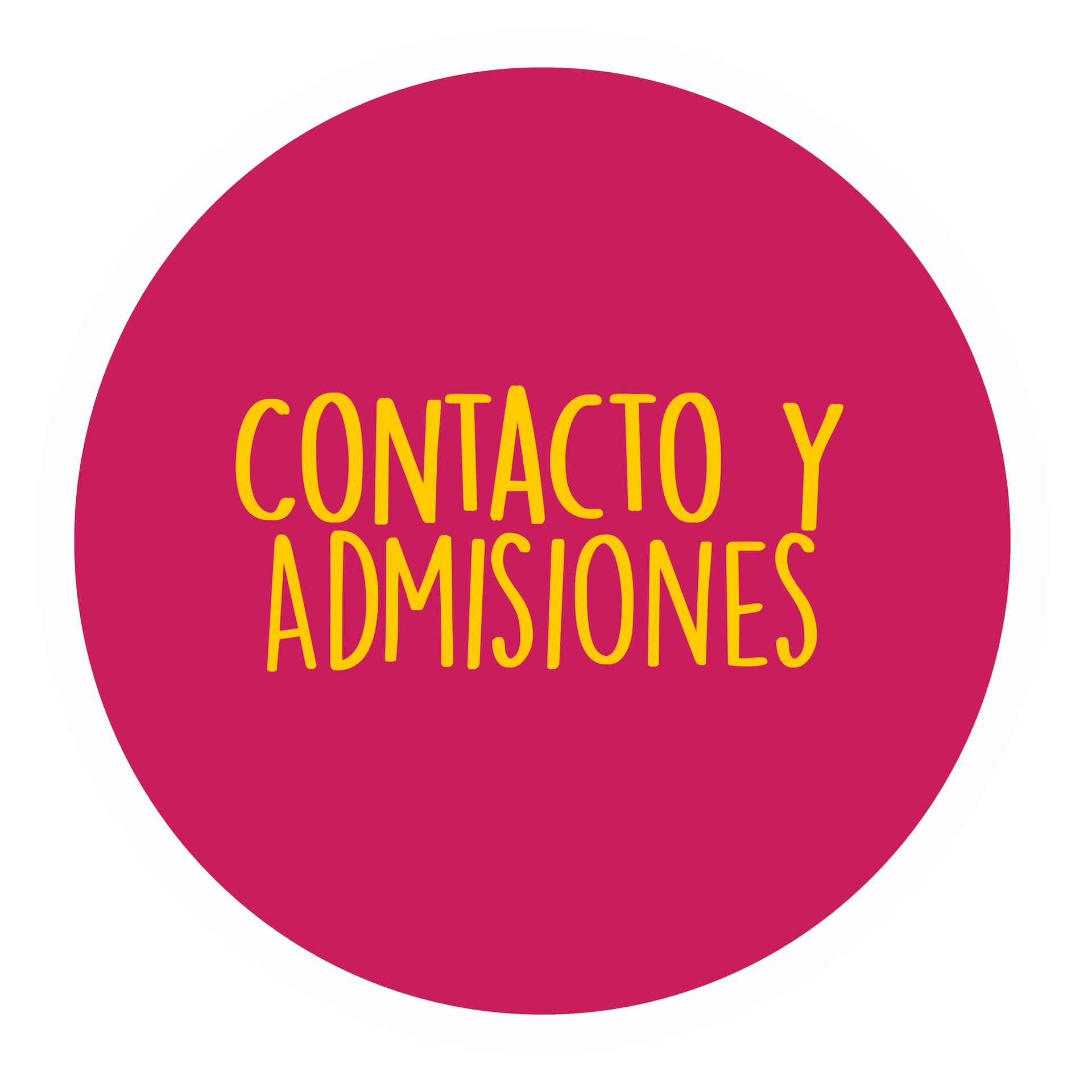 formulario de contacto y admisiones