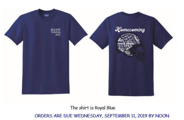 Homecoming 2019 Shirts Thumbnail Image