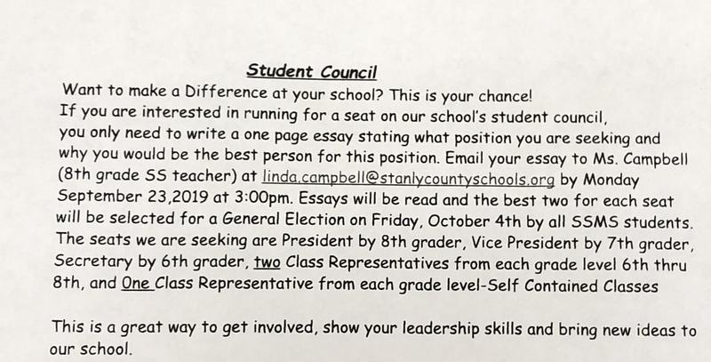 Students Interested in Student Council Featured Photo