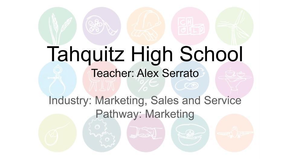 Tahquitz High School Marketing