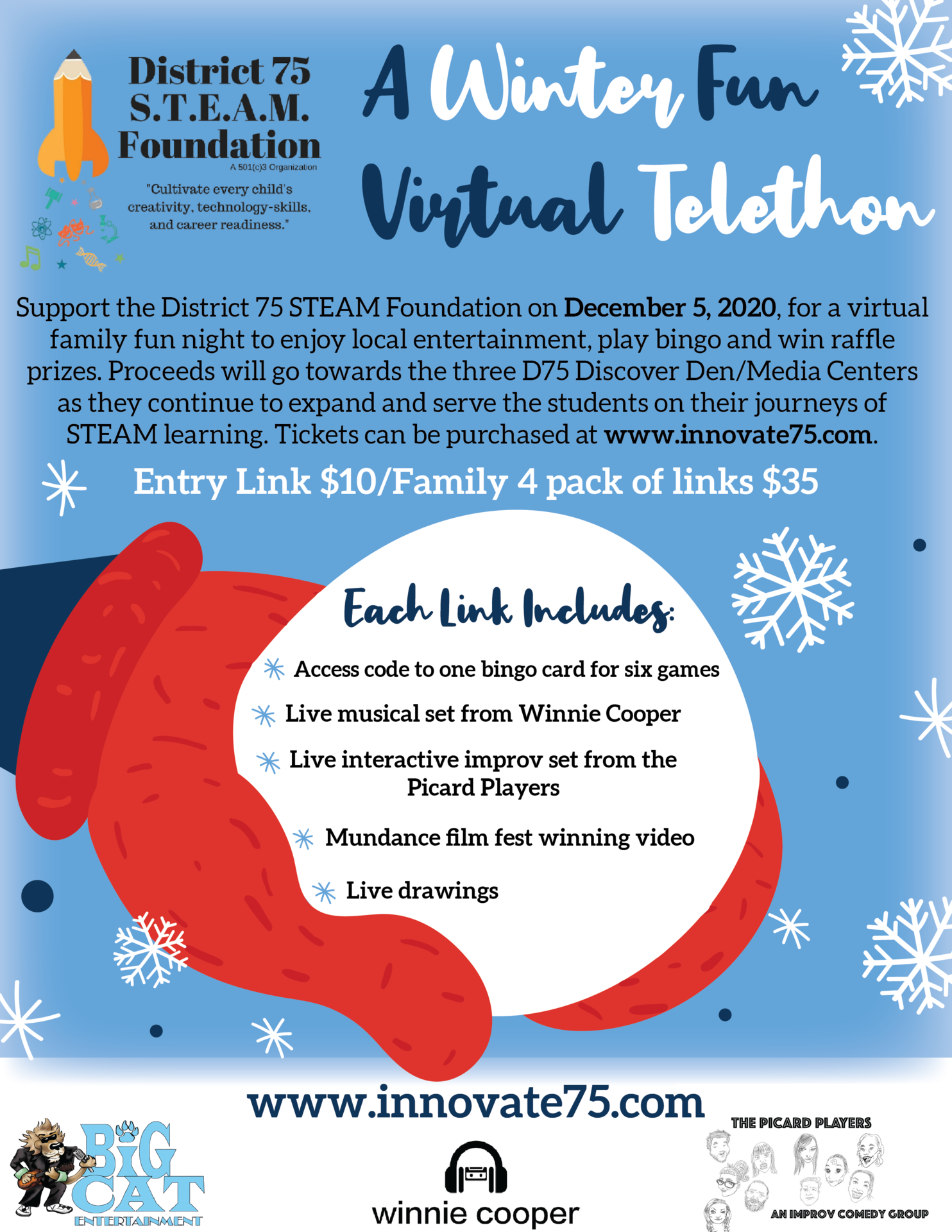 STEAM VIRTUAL FUNRAISER