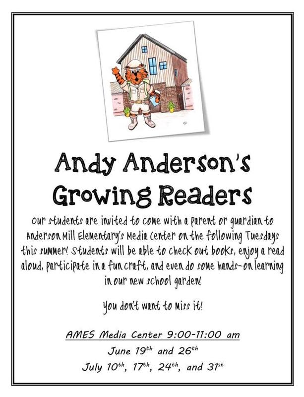PDF of AMES Reading Flyer