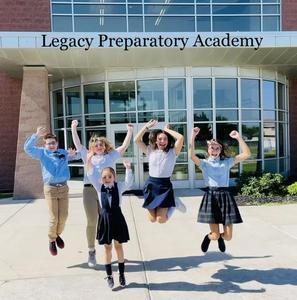 Legacy Preparatory Academy Best charter school in davis county, kids jumping