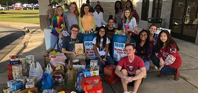 2019 Annual Canned Food Drive Featured Photo