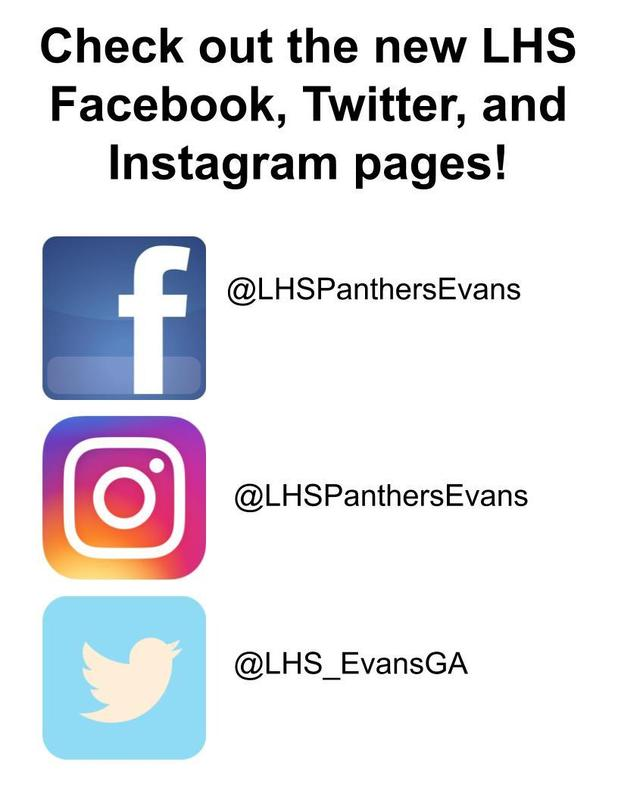 follow us @LHSPanthersEvans