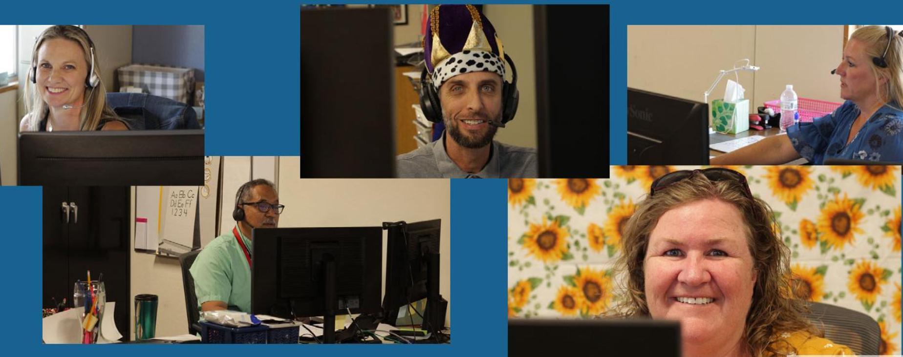 SJTech Teachers at work - collage