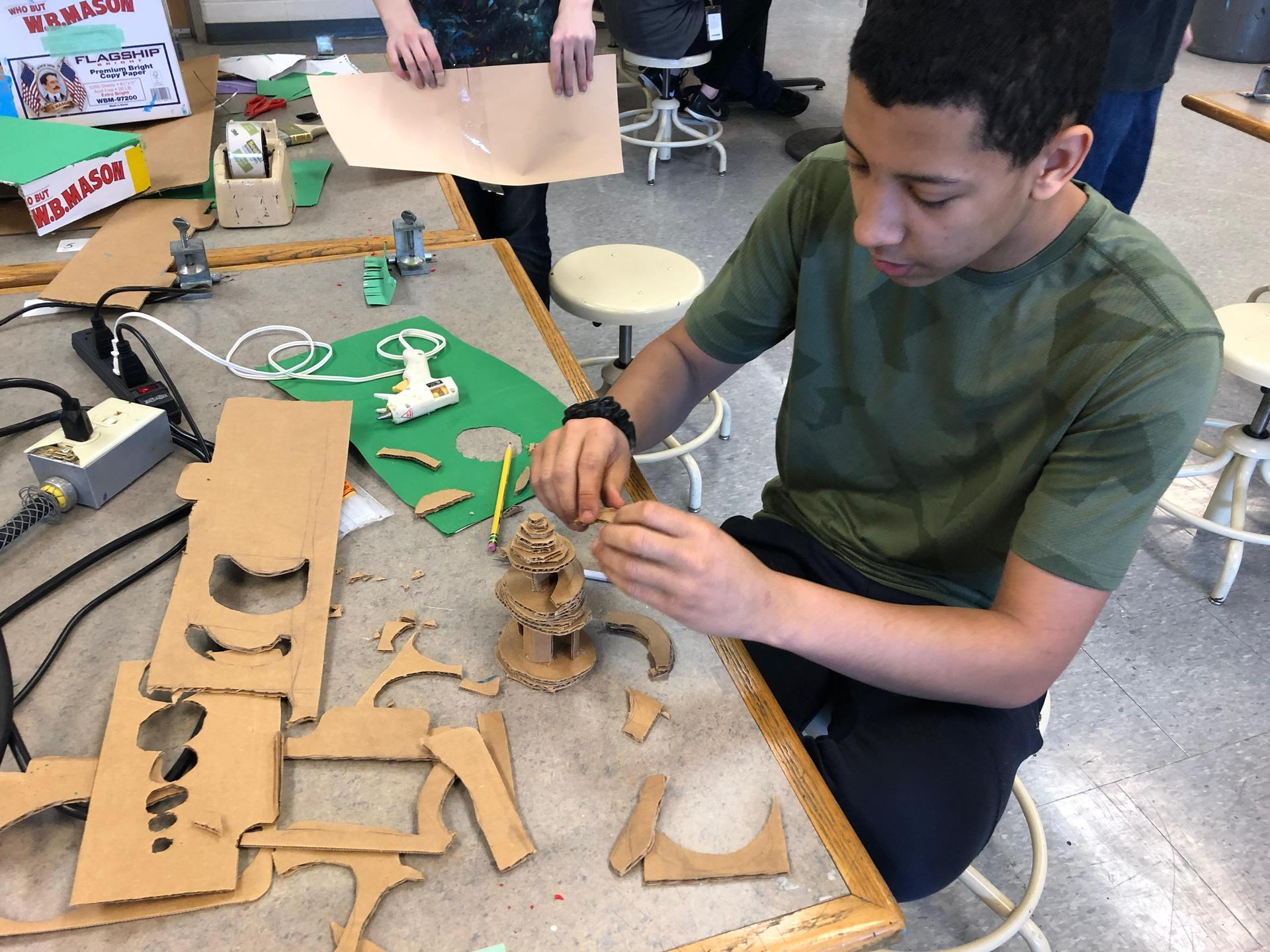 Student building model