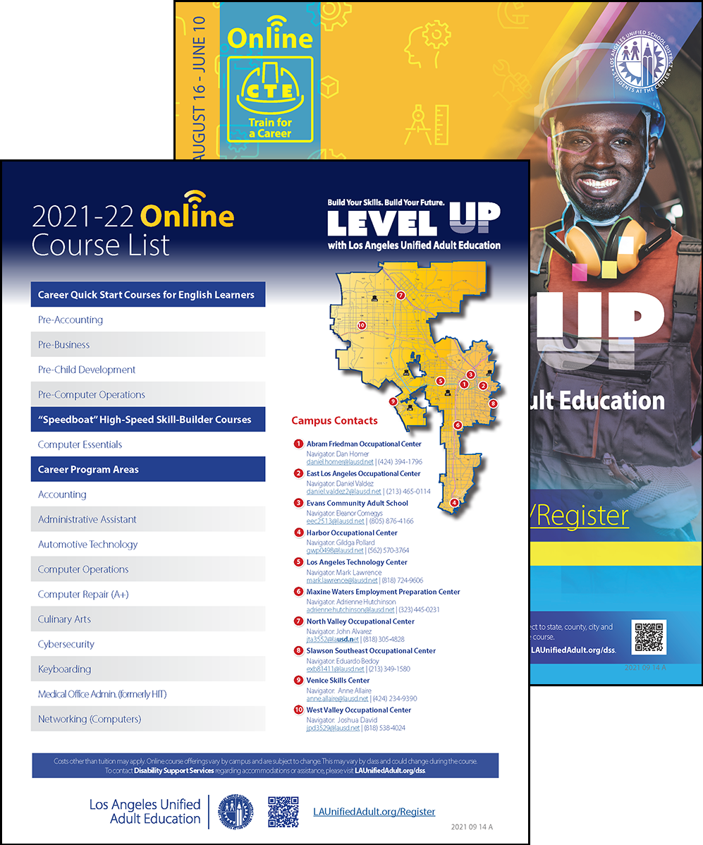 Career Technical Education Flyer - Online - Cover 04