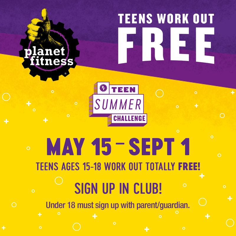 Planet Fitness - Teen Summer Challenge Featured Photo