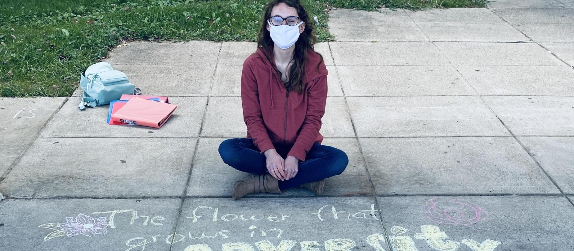 HS Chalk Art