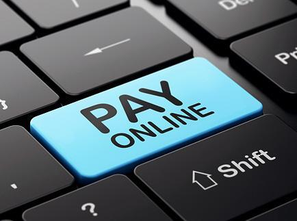 pay online keyboard button