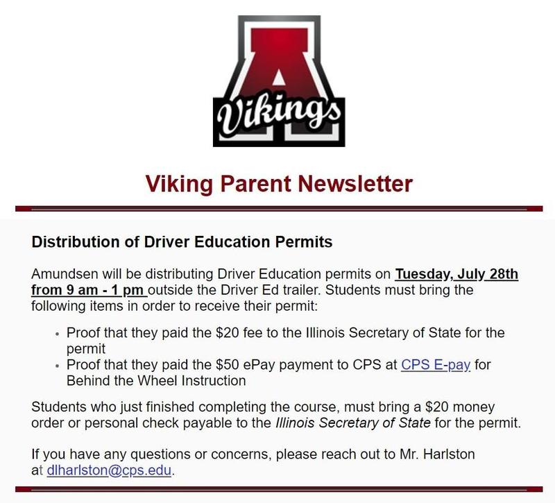 Driver Education Permit Pickup Date Featured Photo