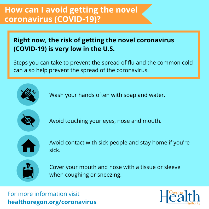 What can I do to avoid getting the coronavirus