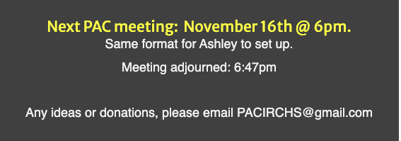 Pac Meeting Time