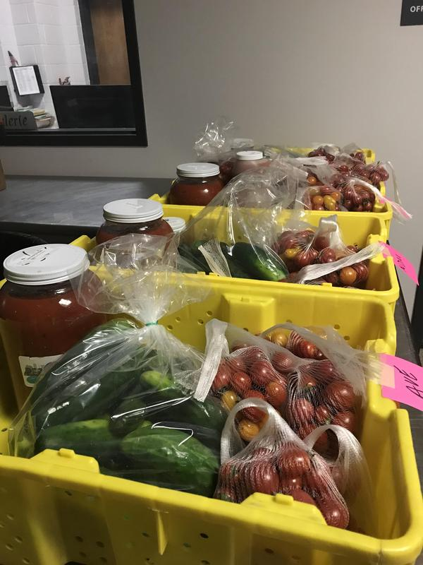 Farm to School delivery