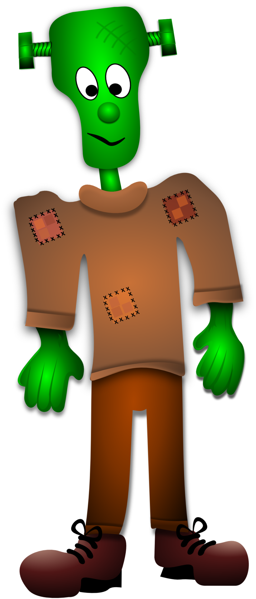 drawing of Frankenstein