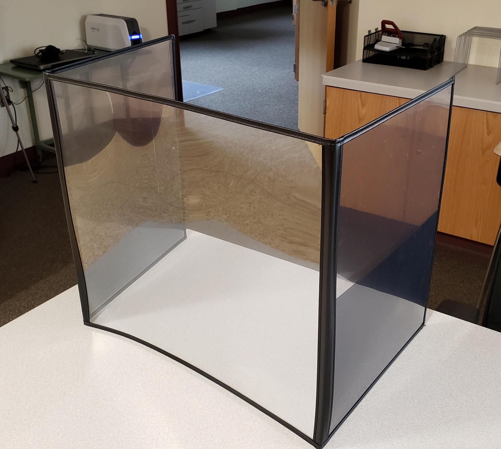 hs desk shields