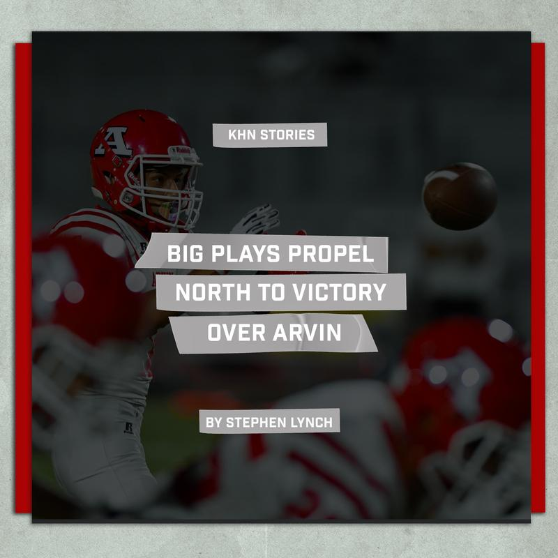 Big Plays Propel North to Victory Over Arvin Thumbnail Image