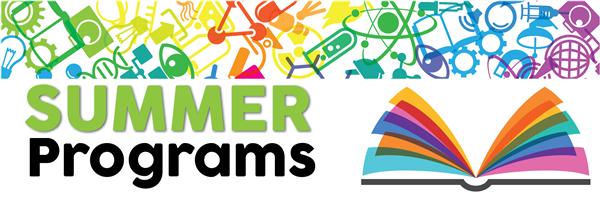 Summer Programs Banner