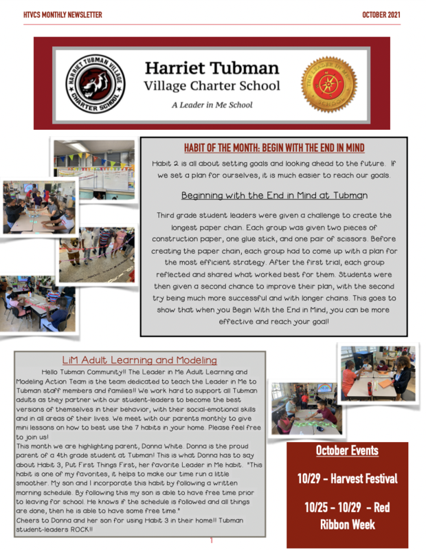 October Newsletter 2021 Featured Photo