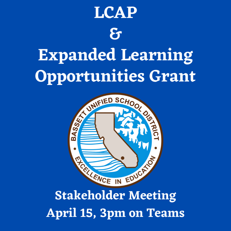 LCAP and ELO grant meeting
