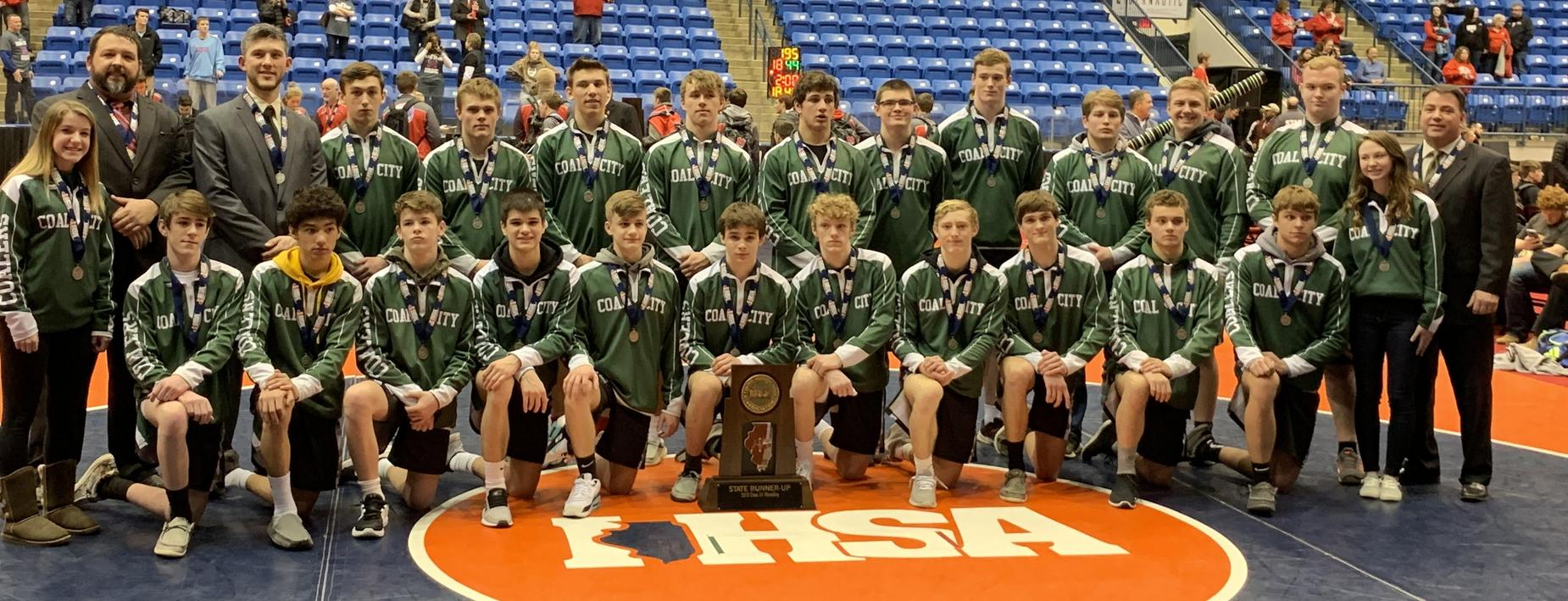 Wrestling State - 2nd Place