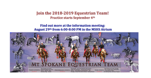 JOIN THE EQUESTRIAN TEAM