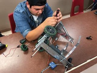 Preparing for Robot Competition