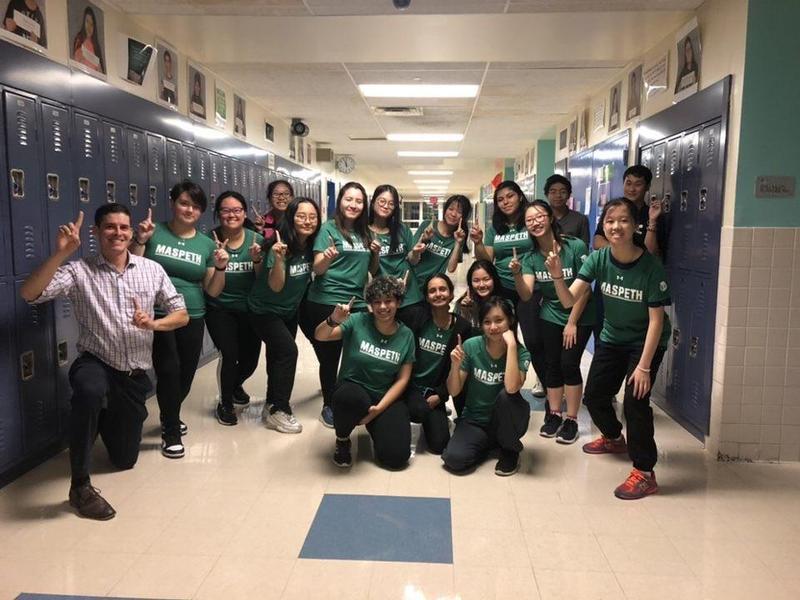 Maspeth High School Table Tennis Scores 1st Season Win` Featured Photo